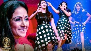 Sema Kuthu!! Actress Saipriya LIVE Thara Local Dance! Simran's Reaction Is Priceless – Galatta Award