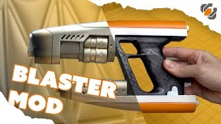 SUPER EASY Star-Lord Toy Blaster Mod - Guardians of the Galaxy Prop