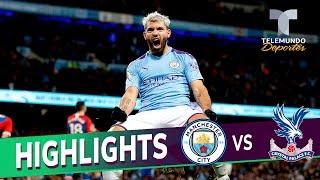 Manchester City vs. Crystal Palace: 2-2 Goals & Highlights | Premier League | Telemundo Deportes