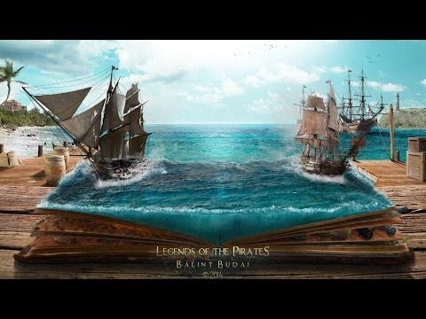 Legends Of The Pirates ( #Photoshop CS6 Time-lapse)