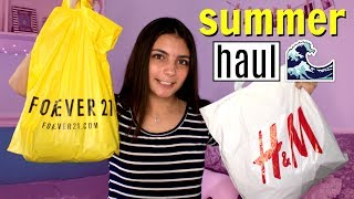 HUGE Try On Summer Clothing Haul 2017