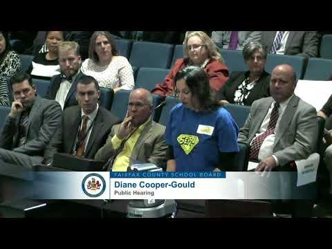 FCPS School Board Meeting - October 12, 2017