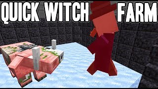 New 1.16-1.16.3+ Witch Farm! [NO REDSTONE] (30 minute build) | Minecraft