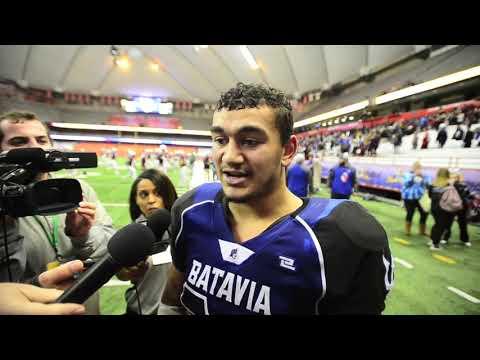 Batavia Vs. Glens Falls Class B Football Finals