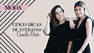 5 Dicas que vão transformar seu look basiquinho com Camila Gaio