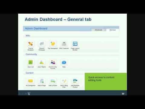 Wikia Webinars - Admin Tools & Tips