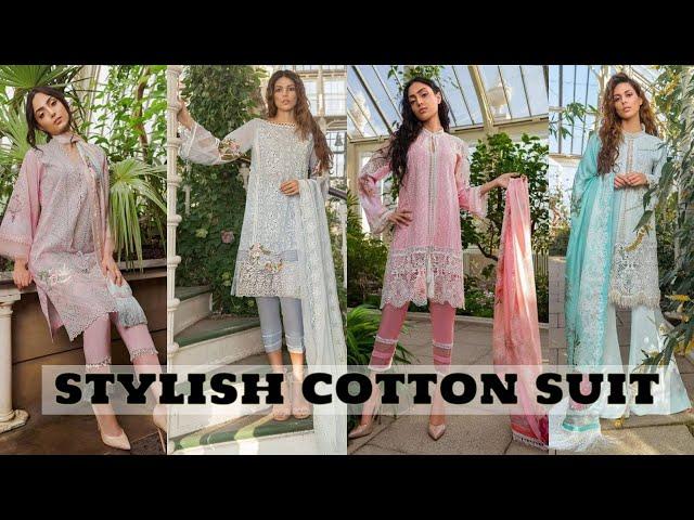 Buy Pure Cotton Chikankaari Work Salwar Kameez #cottondress #prititrendz #onlineshopping #dailywear