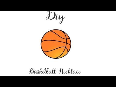 Diy Basketball Necklace