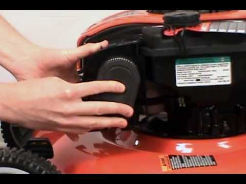 replacing the air filter husqvarna lawn mower youtube marine fuel filter