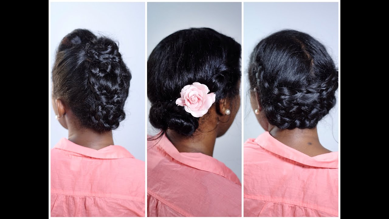 3 Humidity Proof Summer Styles For Straight Natural Hair