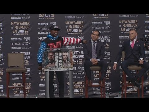 Thumbnail: Floyd Mayweather Says Conor 'Mr. Tapout' McGregor Likes To Quit | ESPN