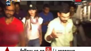 Virat Kohli, Anushka Sharma spotted together at the airport