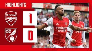 HIGHLIGHTS | Arsenal vs Norwich (1-0) | Aubameyang with the winner & Tomiyasu makes his debut