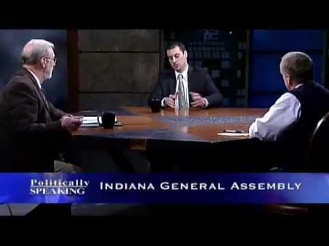 Politically Speaking - 02/26/2012 Indiana General Assembly (Part 1)