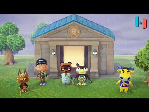Animal Crossing: New Horizons Ingame / Gameplay (Ryujinx Custom Build) Part 12