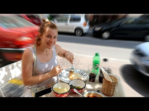 Trying Hungarian Food For The First Time - Best Foods To Try in Budapest!