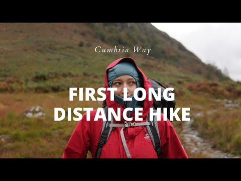 My first long distance hiking trail | the Cumbria Way