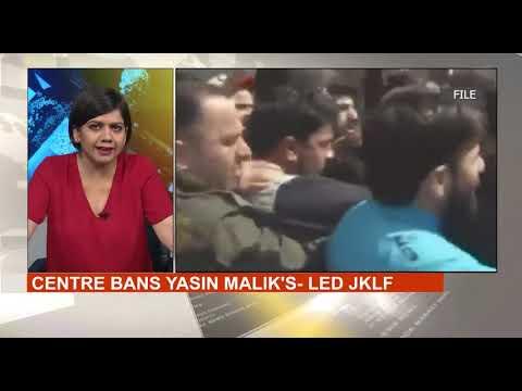 Yasin Malik's JKLF Banned Under Anti-Terror Law