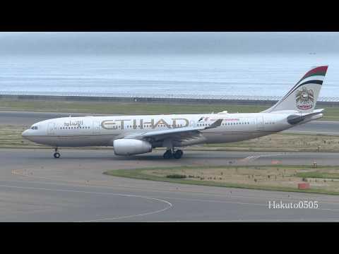 【NGO】 Chubu Centrair International Airport / セントレア着陸シーン