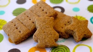 Snack Food Recipe for Kids: How to Make Graham Crackers for Children - Weelicious