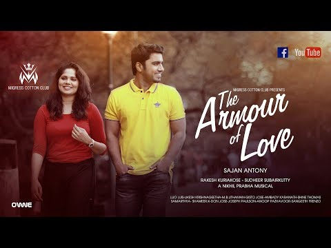 ARMOUR OF LOVE OFFICIAL VIDEO SONG HD | LATEST MALAYALAM MUSIC VIDEO  | MIGRESS COTTON CLUB
