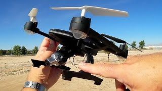 Yu Xiang 668 R8W FPV Camera Drone Flight Test Review