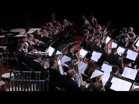 UNT Wind Symphony: John Mackey's The Ringmaster's March