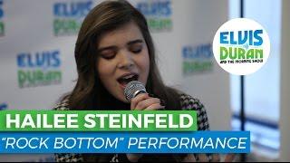 "Hailee Steinfeld - ""Rock Bottom"" Acoustic   Elvis Duran Live"