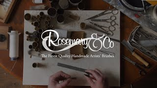 Rosemary & Co Artists' Brushes - Introduction