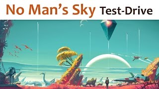 🎮 No Man's Sky (Test-Drive)