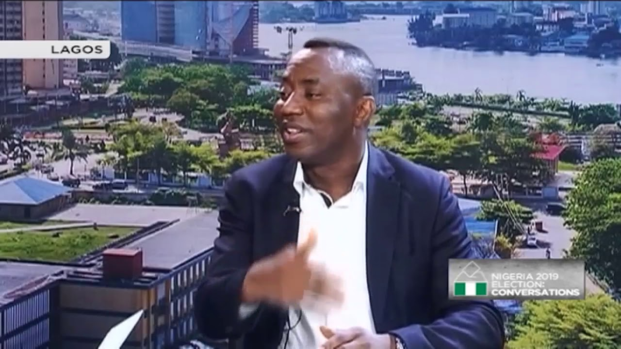 Nigeria 2019 elections: Omoyele Sowore Presidential candidate African Action Congress