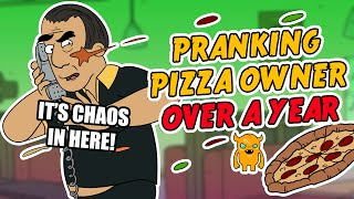 Pranking Crazy Arab Pizza Owner for Over a Year