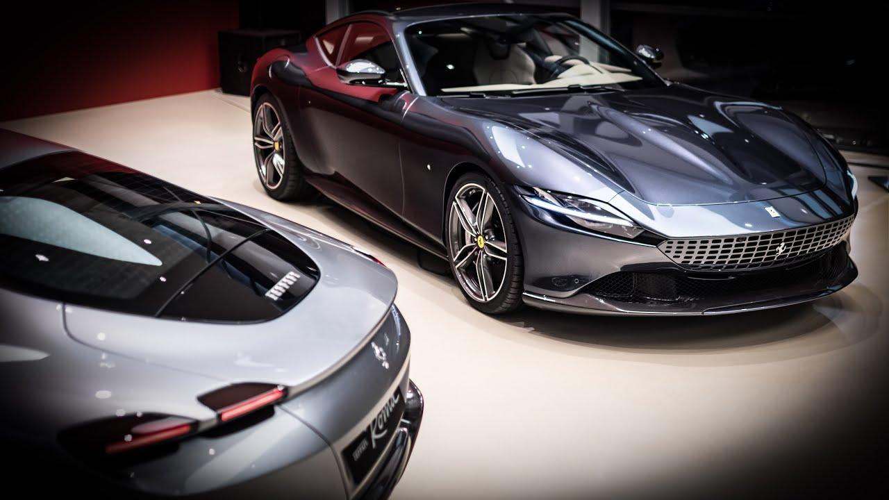 2x Unreleased Ferrari Roma In Geneva Full Look Ferrari Monza Sp2 Youtube
