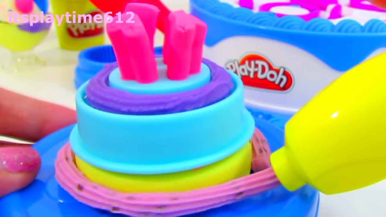 Play Doh Ice Cream And Cake