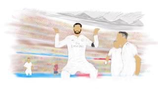 Sergio Ramos Fortnite-Celebration Atletico Madrid 1:3 Real Madrid