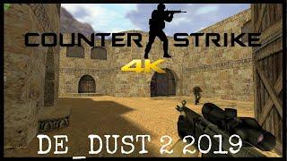 Counter Strike 1.6 2019 Gameplay De_Dust 2 4K