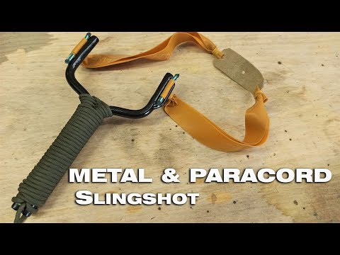 Homemade Powerful Slingshot