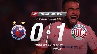 0-1 Resumen Veracruz Vs Toluca J16 Apertura 2017
