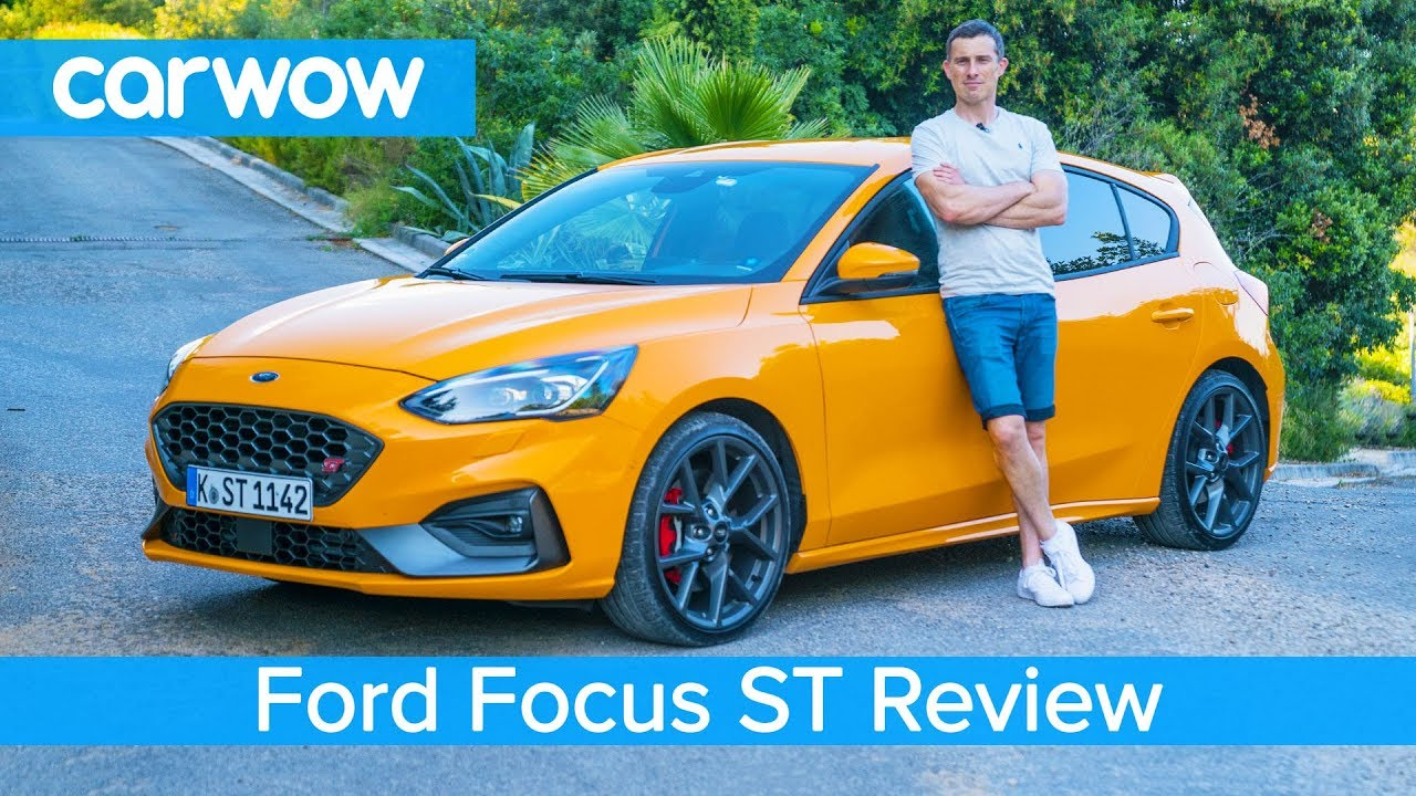 ford focus st 2020 review - tested on road   u2018circuit u2019 and launched