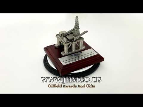 Offshore Oil & Gas Platform JHM#183 Gifts Award Model