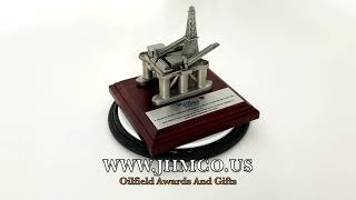Offshore Oil & Gas Platform JHM#183 Gifts Award Model