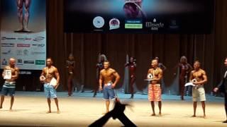 Чемпионат Украины UBPF 2016 награждение Men's Physique до 175 см