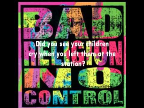 Bad Religion - I Want to Conquer the World Lyrics