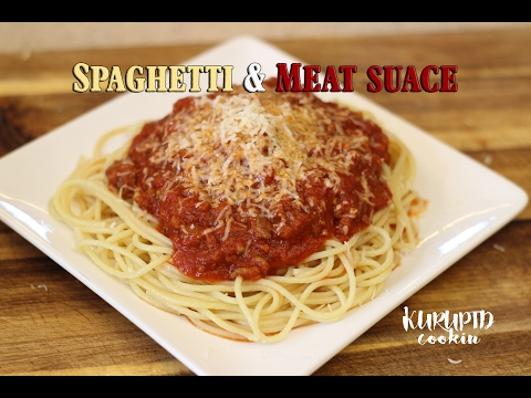 Howto make spaghetti and meat sauce: BEST MEAT SAUCE RECIPE