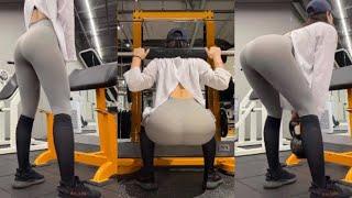 →Fitness VLOG→ 여성분들 100% 다음날 엉덩이가 커지는게 느껴지는 애플힙 운동 진짜 레알 꿀TIP with 트레이너 (망고출현)