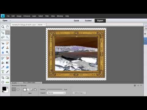 How To Invert An Image With Adobe Photoshop Elements : Photoshop Elements