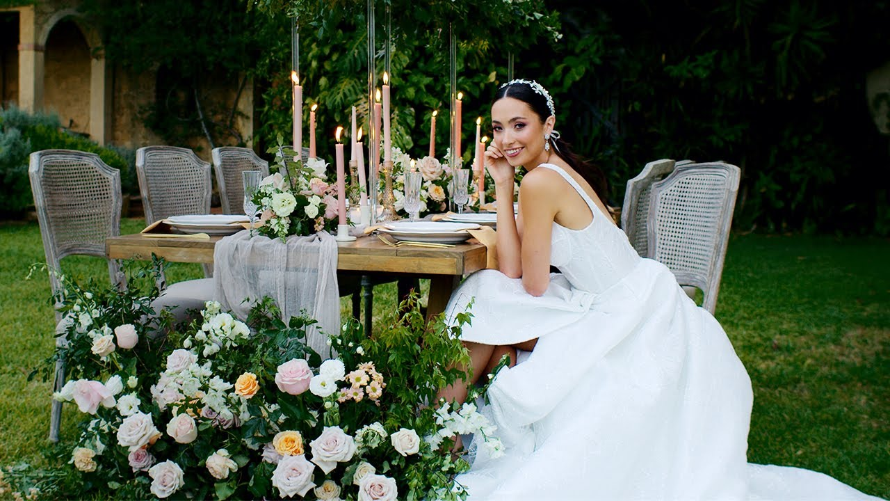 Hopeless Romantic - Deux Belettes - Wedding Styled Shoot Teaser