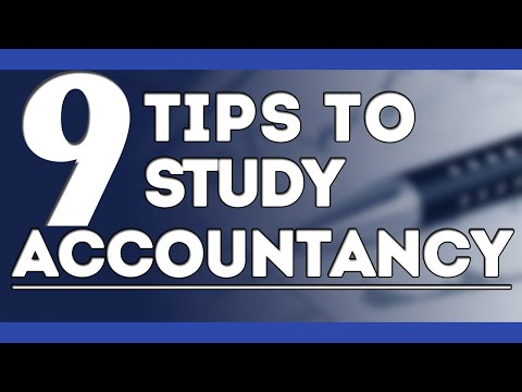 How To Study Accounts | 9 Important Exam Tips For Students| Letstute Accountancy