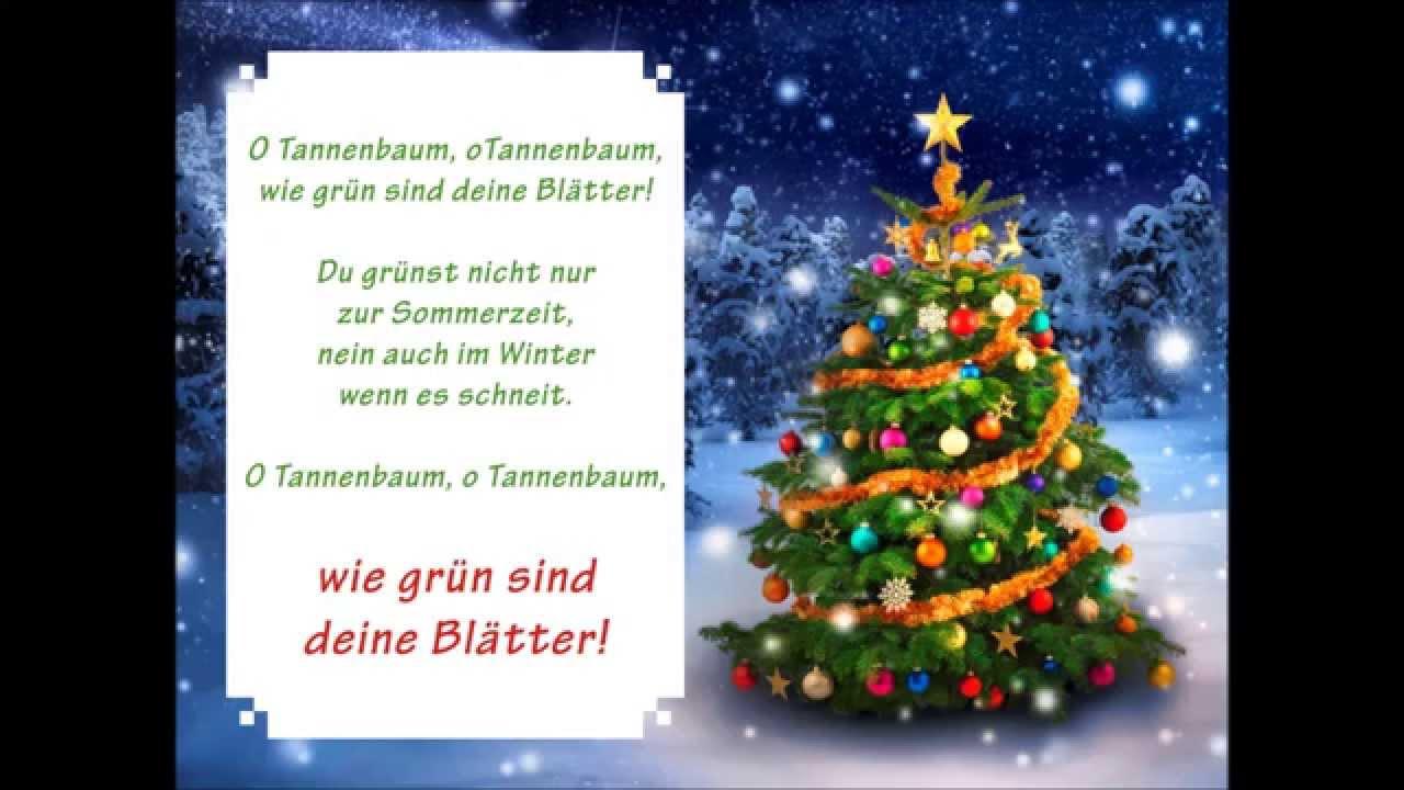 o tannenbaum  lied