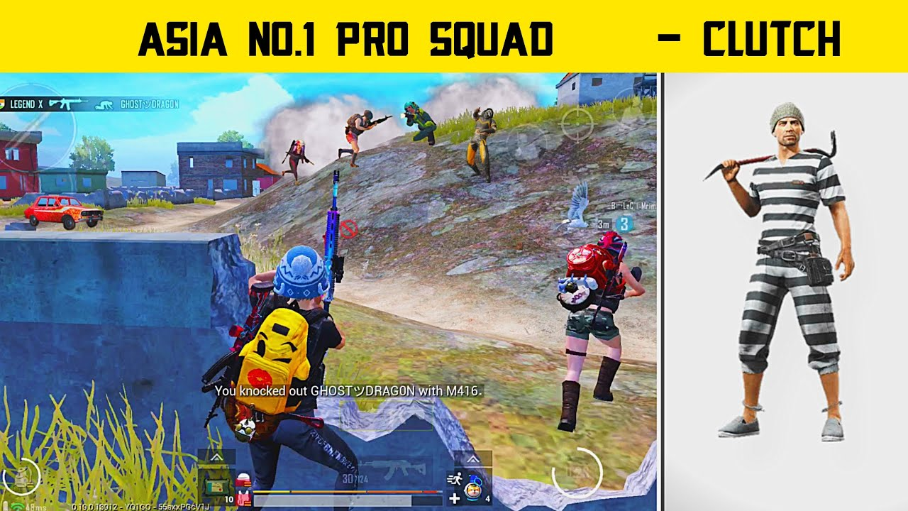 🔥Asia No.1 Pro Squad Using Hacks In Pubg mobile - Pubg Mobile Hindi Gameplay - Legend X